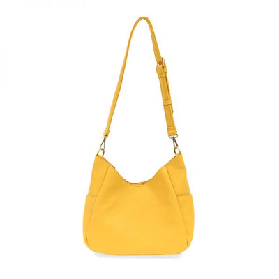 1 Hadley Leather Hobo Bag (Sunflower)
