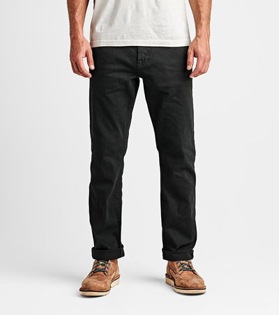 ROARK Men's Hwy 128 5 Pocket Pant (Black)