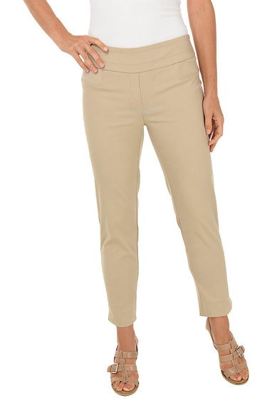Zac & Rachel Ankle Pull On Pant (Chino)