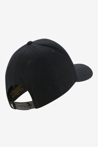 HURLEY Storm Icon Curved Hat (Black)
