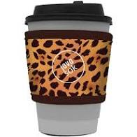 JavaSock Hot Beverage Sleeve (Leopard)