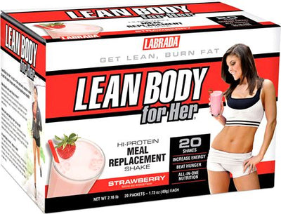 LABRADA Lean Body for Her Meal Replacement (2 Flavors)