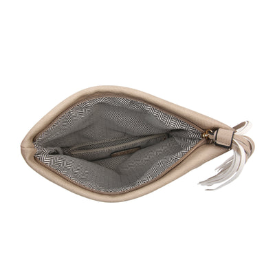 Austin Crossbody Clutch (Brown)