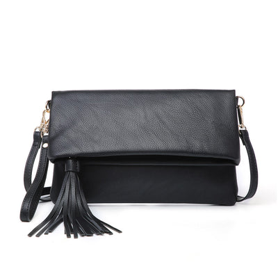 Austin Crossbody Clutch (Black)