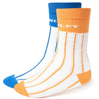OAKLEY Striped Socks - White