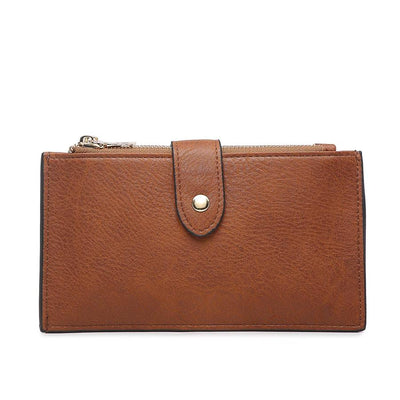 Odelia Snap Wallet (Brown)