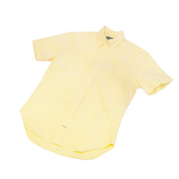 Gitman Vintage Yellow Spring Oxford