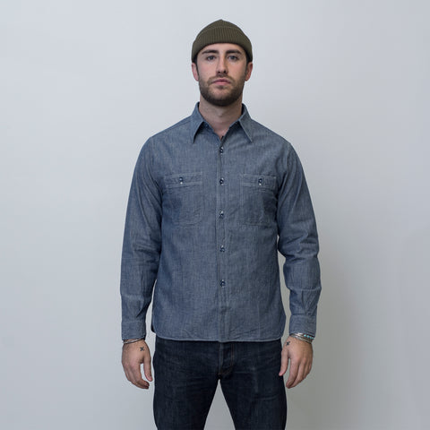 Buzz Rickson's USN Chambray Blue
