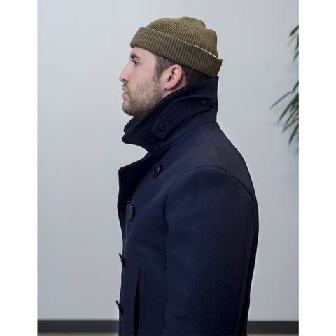 Buzz Rickson's USN Pea Coat Navy