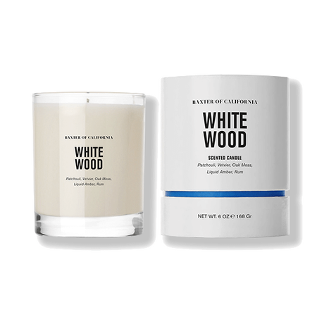 Baxter of California White Wood Candle - 6oz