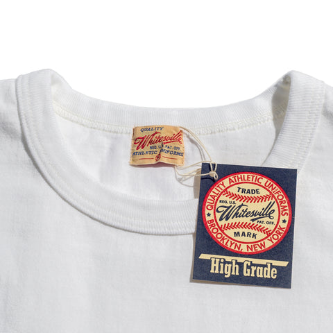 Whitesville Heavyweight Pocket T-shirt White