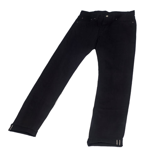 Sugar Cane 1947 Type III Slim Jeans Black