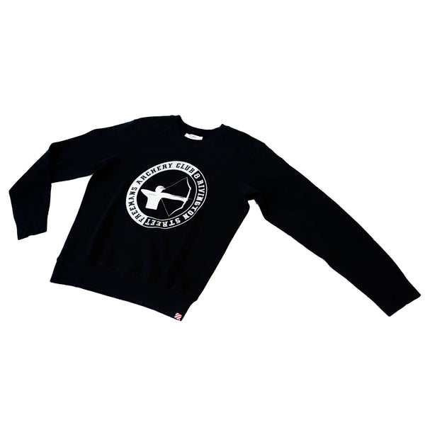 Freemans Sporting Club Printed Crewneck Archery Club Dark Navy