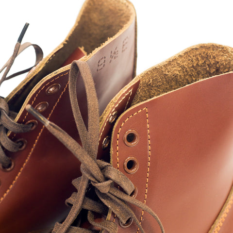 Buzz Rickson's M-42 Service Shoes Russet Brown