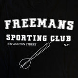 Freemans Sporting Club Bowery T-Shirt Black