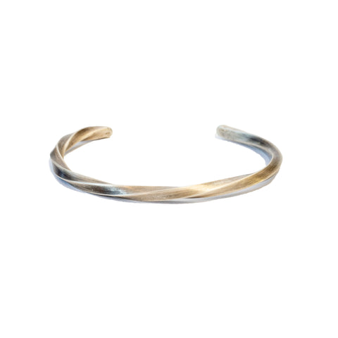 Cause and Effect Twisted Sterling Cuff