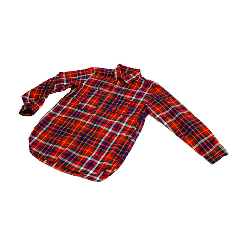 Engineered Garments Work Shirt Cotton Twill Plaid
