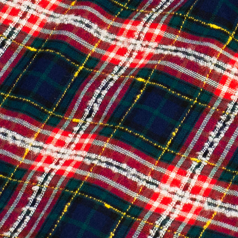 Gitman Vintage Archive Fluro Slub Plaid