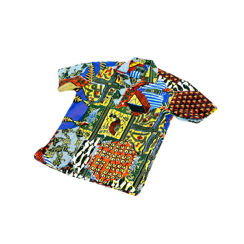 Gitman Vintage Fish Eye Camp Shirt