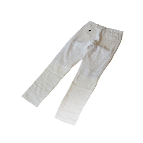 Freemans Sporting Club Chino White Linen