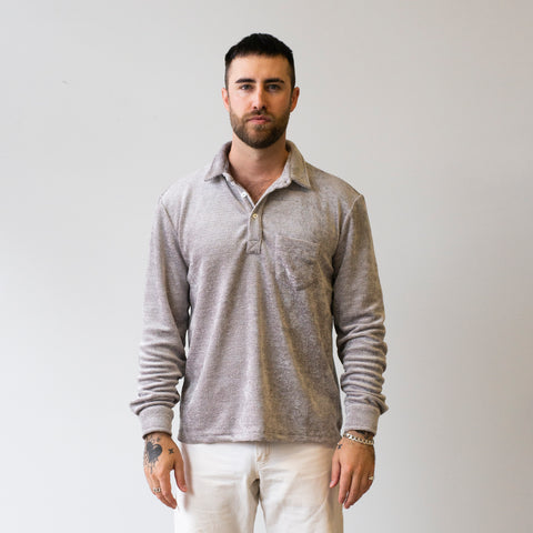 Freemans Sporting Club Long Sleeve Pullover Grey
