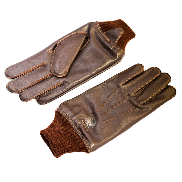 Buzz Rickson's A-10 Gloves Brown
