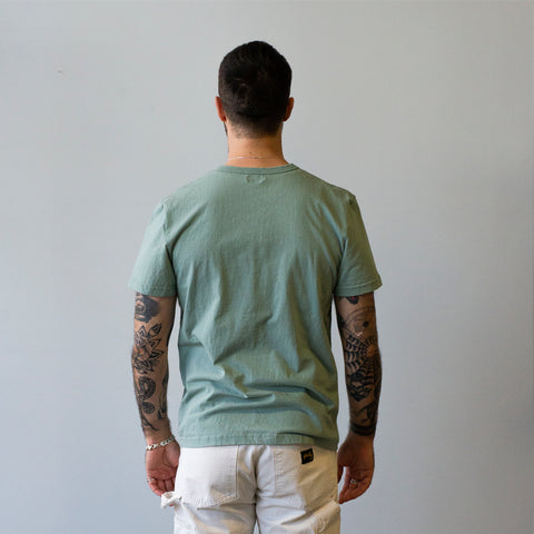 Homespun Knitwear Dad's Pocket Tee Tennessee Jersey Pine Fade
