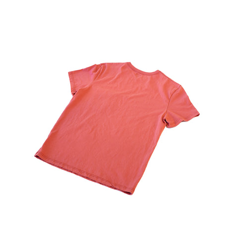 Homespun Knitwear Dad's Pocket Tee Tennessee Jersey Red Fade