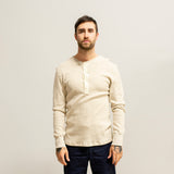 Homespun Knitwear Coalminer Henley