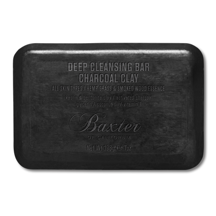 Baxter of California Charcoal Deep Cleansing Bar