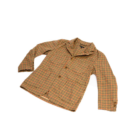 Engineered Garments NB Jacket Tan/Orange Wool Big Gunclub Check