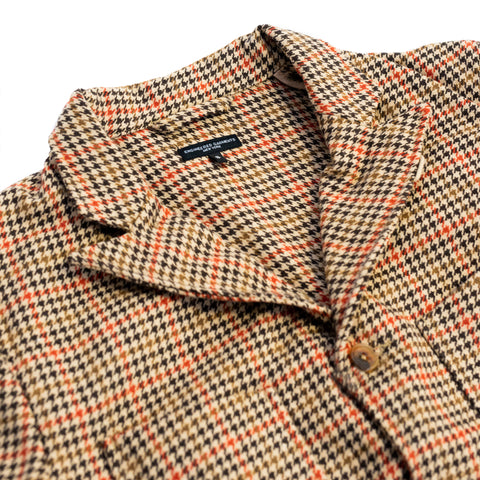 Engineered Garments NB Jacket Tan/Orange Checked