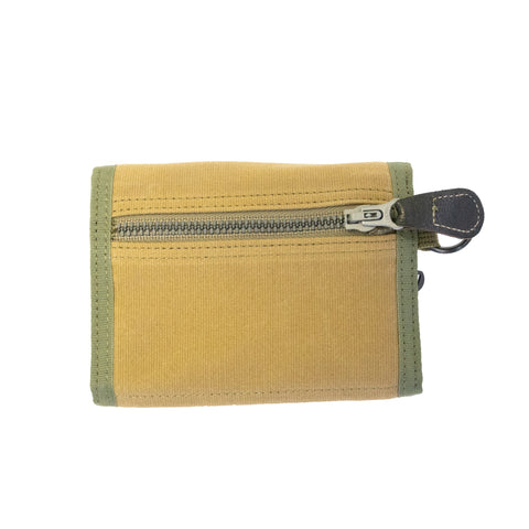 Buzz Rickson's x Porter Jungle Cloth Wallet Khaki