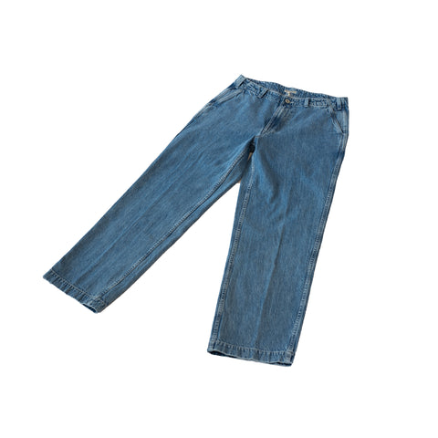 Knickerbocker Patch Pocket Denim Trouser