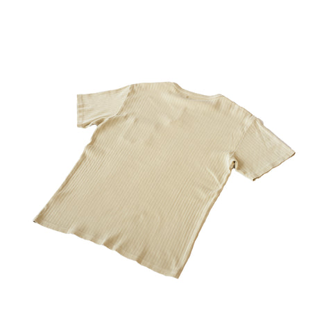 Knickerbocker Ribbed Pocket T-Shirt Stone