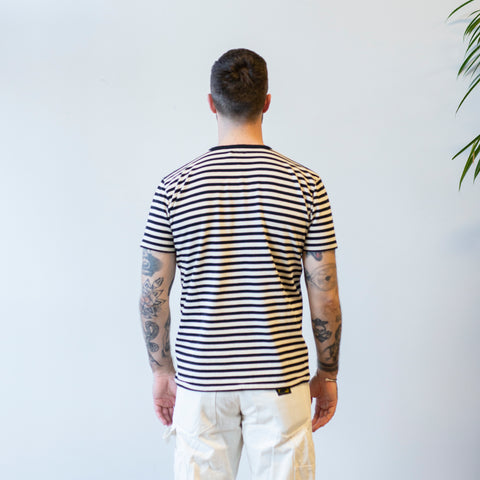 Knickerbocker Malibu Tee Coal Stripe