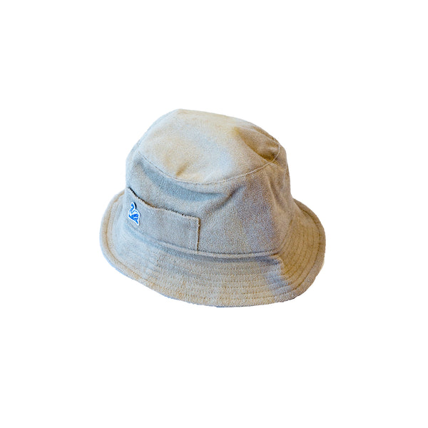 Merz b. Schwanen FTBH01 French Terry Bucket Hat Feather Grey
