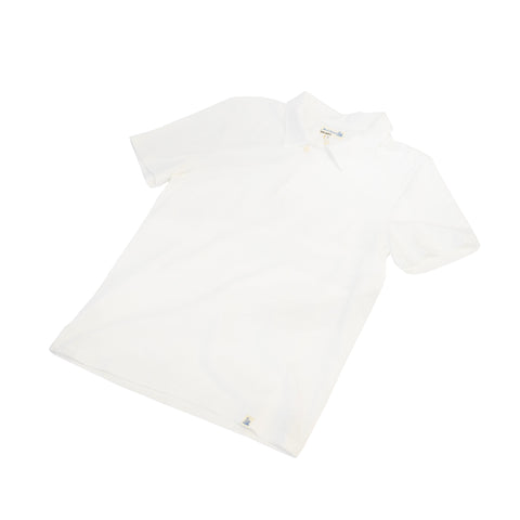 Merz b. Schwanen PLP01 Polo Shirt with Pocket White