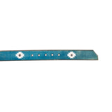 Cause and Effect Blue Navajo Belt