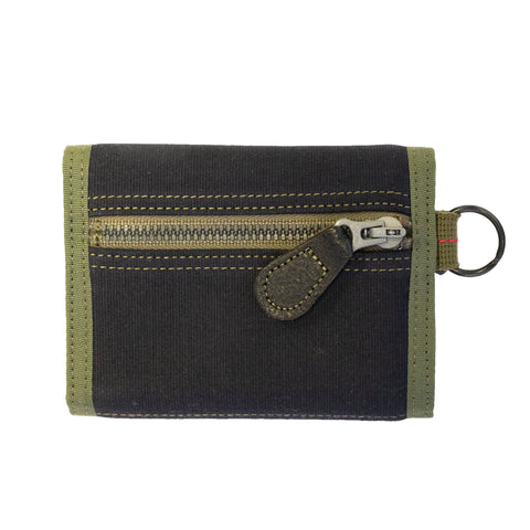 Buzz Rickson's x Porter Jungle Cloth Wallet Navy
