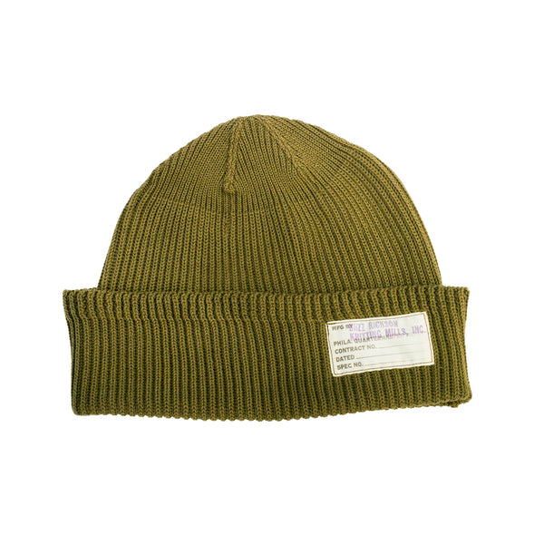 Buzz Rickson's Cotton Watch Cap Olive