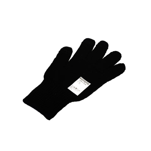 RoToTo Touch Screen Merino Glove Black