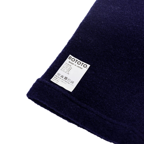RoToTo MOF Neck Warmer Navy close shot