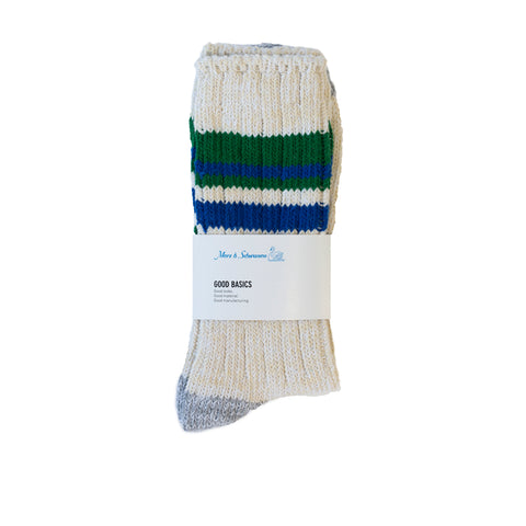 Merz b. Schwanen GS02 Socks Nature/Grass