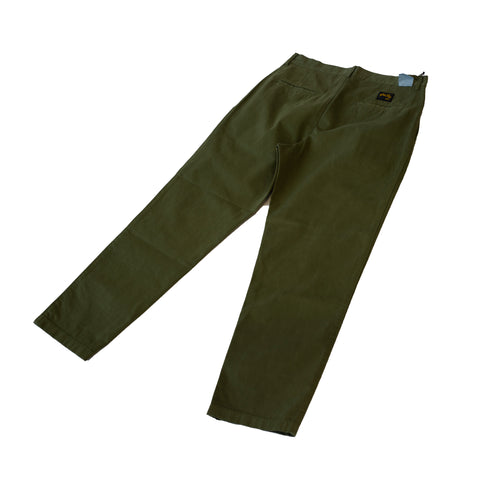 Stan Ray Double Pleat Chino Olive Taffeta