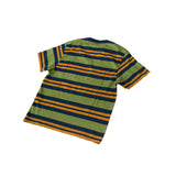 Stan Ray Yarn Dye Stripe Thick T-Shirt Navy Border Stripe