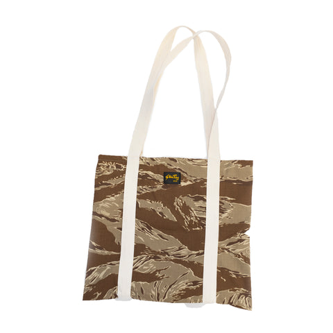 Stan Ray Tiger Stripe Ripstop Tote Bag Khaki