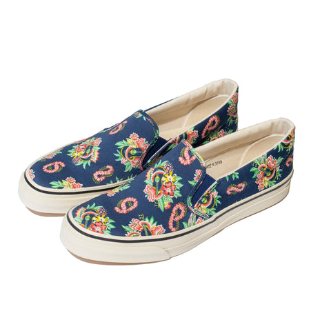 Sugar Cane Sun Surf Slip-On Shoes Macintosh Ukulele Navy