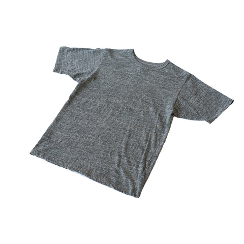 National Athletic Goods Athletic Tee Mock Twist Jersey Dark Grey