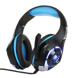 3.5mm Noise Cancelling-Gaming Headphones with LED (8 Variants)